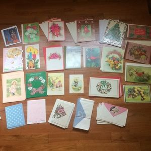 Other - Assorted Vintage Holiday Cards and Envelopes (39)